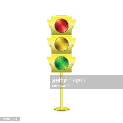 Traffic Light : Vector Art