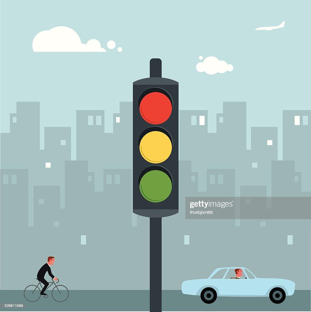 Traffic lights : Vector Art