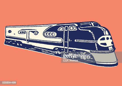 Train : Vector Art
