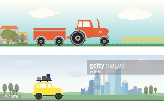 Transport : Vector Art