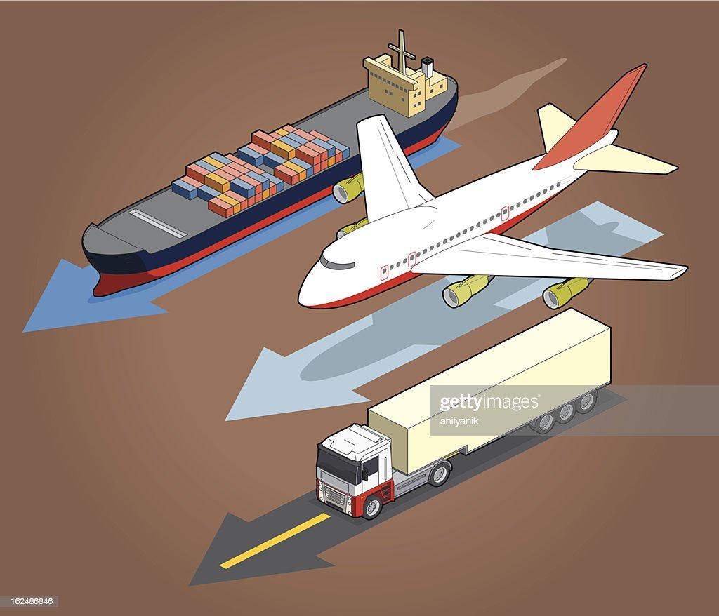 transportation : Vector Art