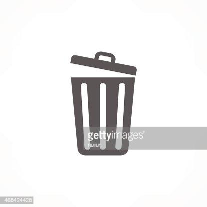 trash icon : stock vector