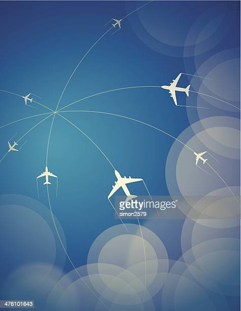 Aviones de viaje