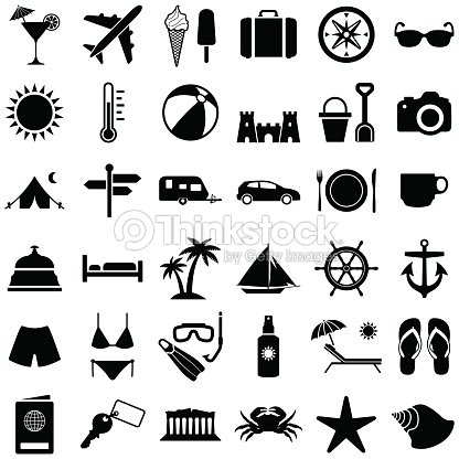 Travel and holiday : stock vector
