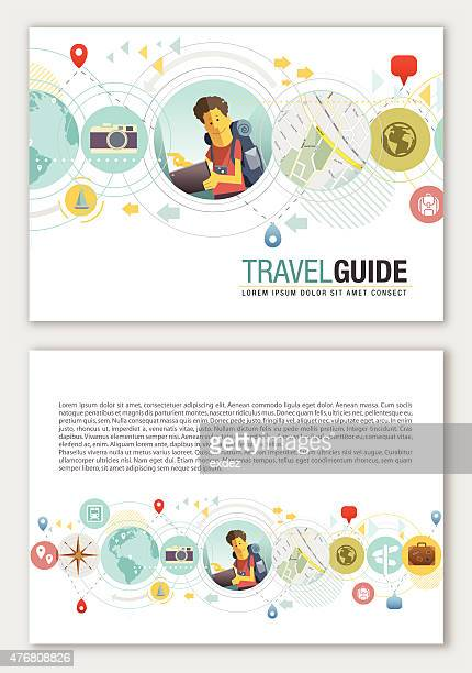 Travel design spazio di copia