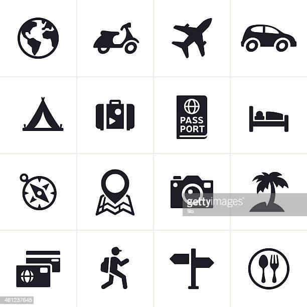 Icone di viaggio