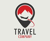 Travel, tourism, holidays and pleasure vector design eps 10