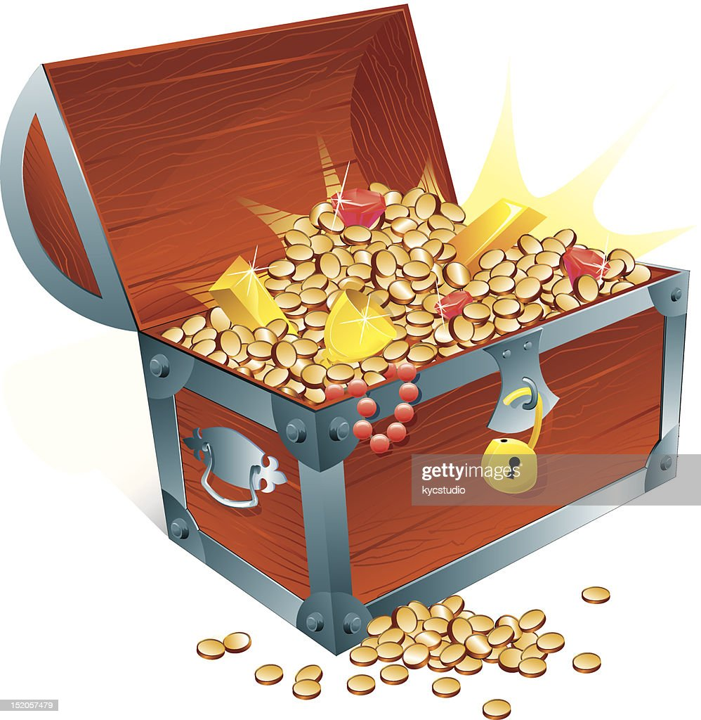 Treasure Chest : Vector Art