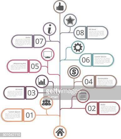 Tree Diagram Template Vector Art | Thinkstock
