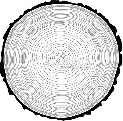 anneaux arbre de scie coupe tronc darbre clipart vectoriel thinkstock. Black Bedroom Furniture Sets. Home Design Ideas