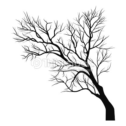 trees with dead branch vector art thinkstock. Black Bedroom Furniture Sets. Home Design Ideas