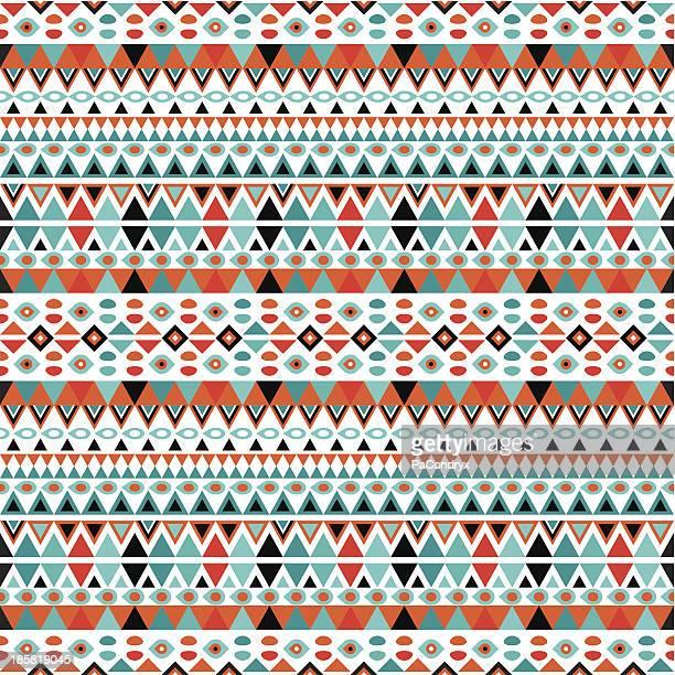 Moderne geometrische Muster im Retro-Stil