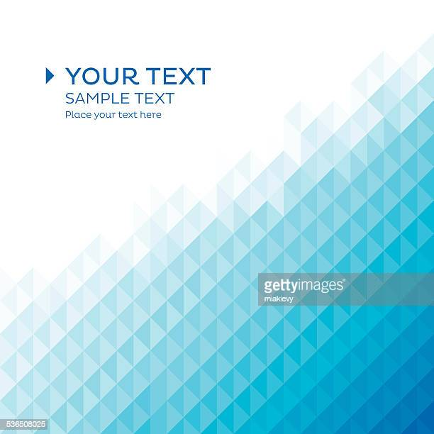 Triangle background template