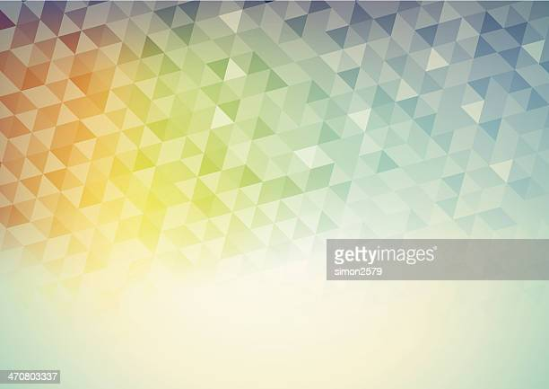 A triangle pastel technology abstract image