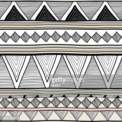 Tribal pattern : Vector Art