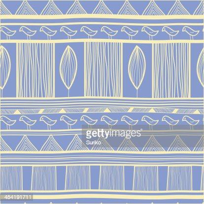 Tribal patrón : Arte vectorial