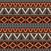 Tribal pattern vector seamless. African print with in ethnic colors. Background for fabric, wallpaper, wrapping paper and card template.