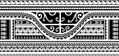 Maori style ethnic ornament, good for sleeve tattoo