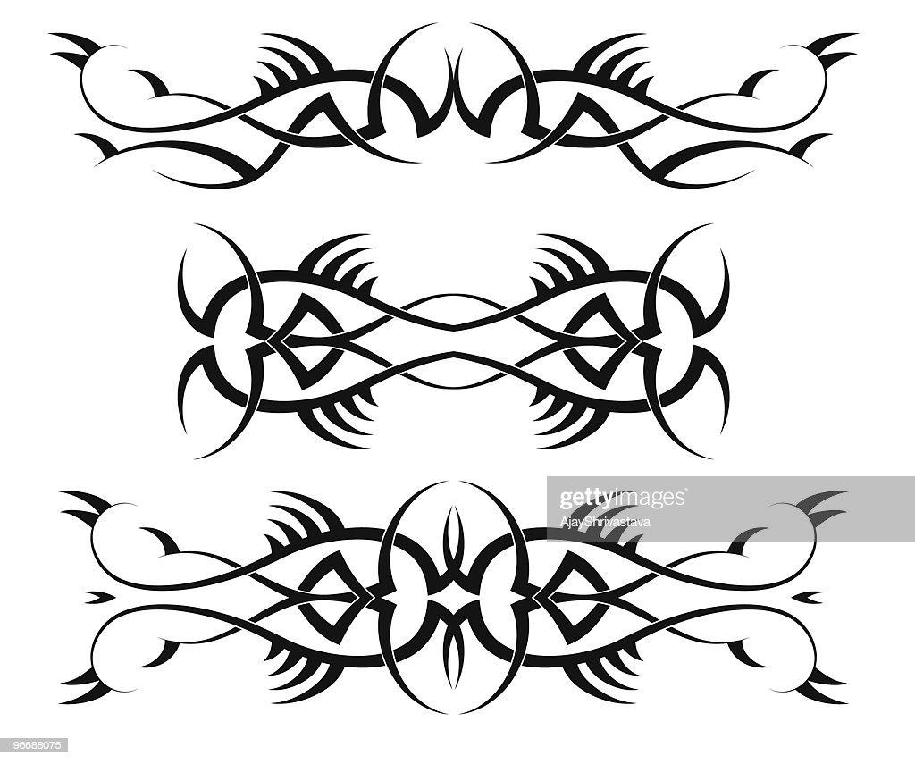 Brazalete Tribal Free Dibujo De Tatuaje De Brazalete Tribal Con Los