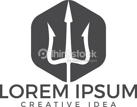 Trident Symbols Template Vector Design Vector Art Thinkstock