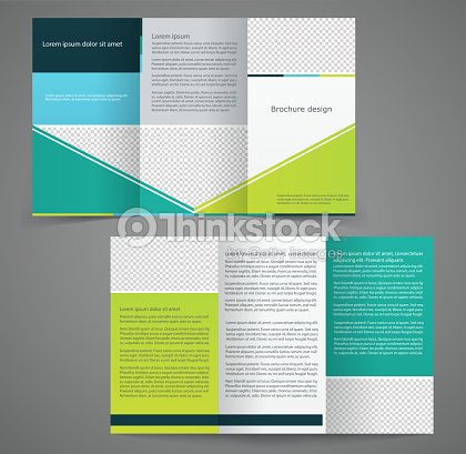 Double Sided Brochure Template 11 Best Photos Of Double Sided