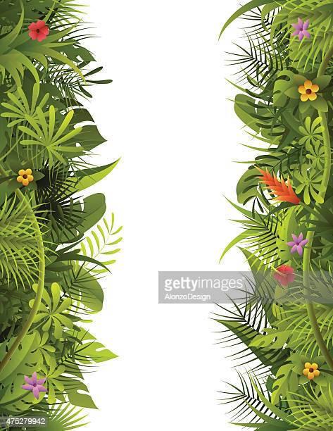 Tropical Forest Vertical Frame