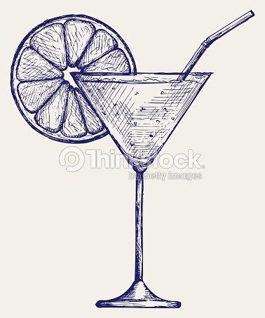 Cocktails tropicaux frais clipart vectoriel thinkstock - Dessin cocktail ...