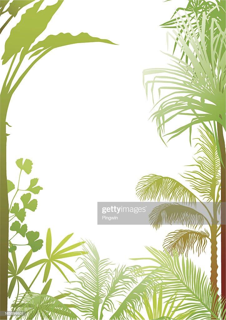 vector scenery tropical - photo #3