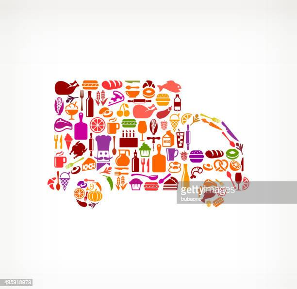 Truck Food & Drink royalty free vector arts