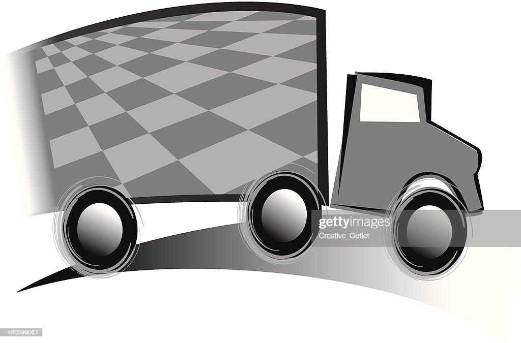 Truck : Vector Art