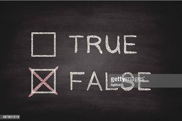 True or False Checkboxes on Blackboard - Chalkboard