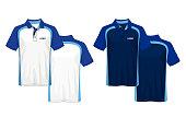 T-shirt polo design,sport jersey template.