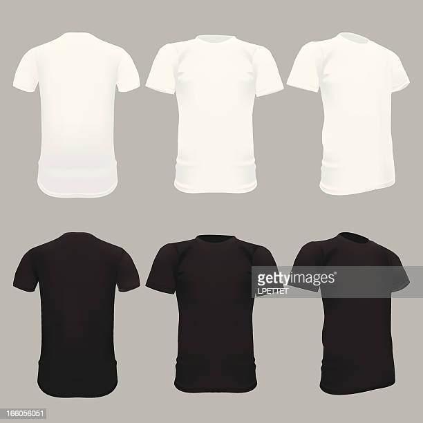 T-Shirt Template - Vector Illustration