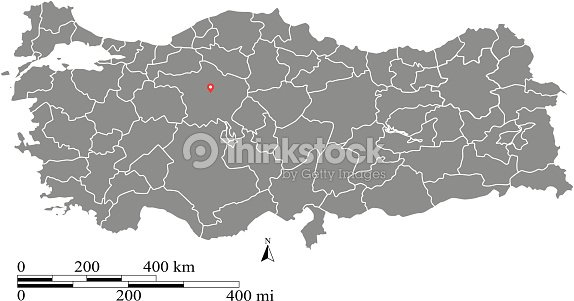 Turkey map outline vector with scales of miles and kilometers turkey map outline vector with scales of miles and kilometers vector art gumiabroncs Images