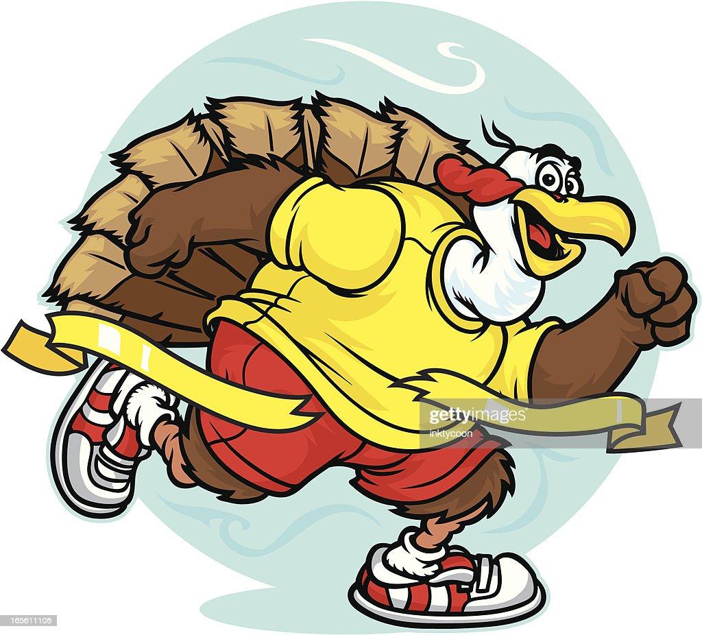 turkey runner vector art getty images