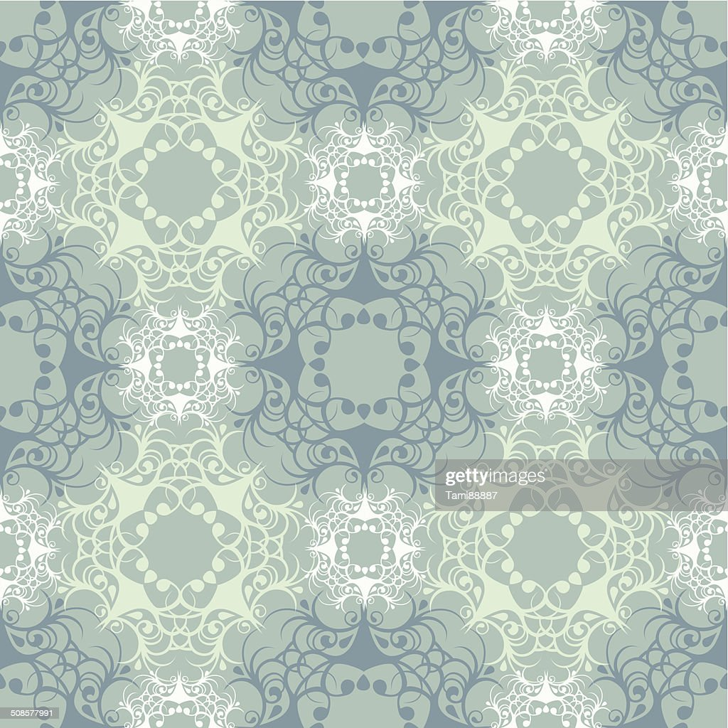 turquoise lace : Vector Art