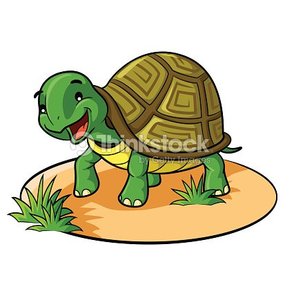Dessin anim de tortue clipart vectoriel thinkstock - Dessin d une tortue ...