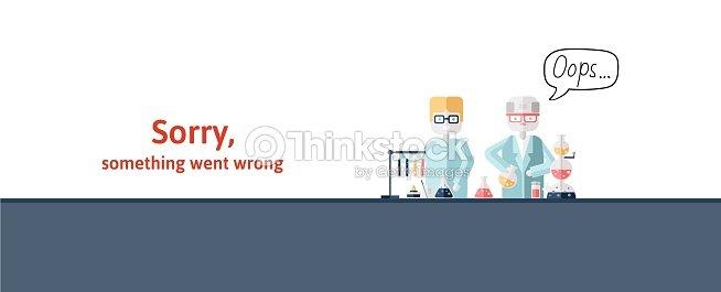 Dos Científicos Realizando Pruebas En Laboratorio Mensaje De ...
