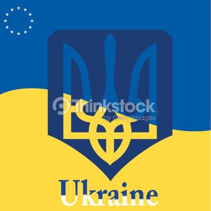 Ukrainian Flag Vector Art Thinkstock