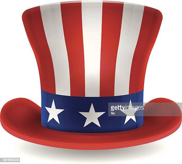 """El tío Sam Patriótica estadounidense USA perfil en'U"""""""