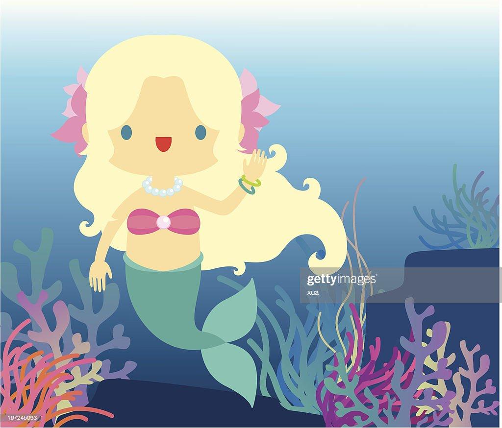 Under The Sea : Vector Art