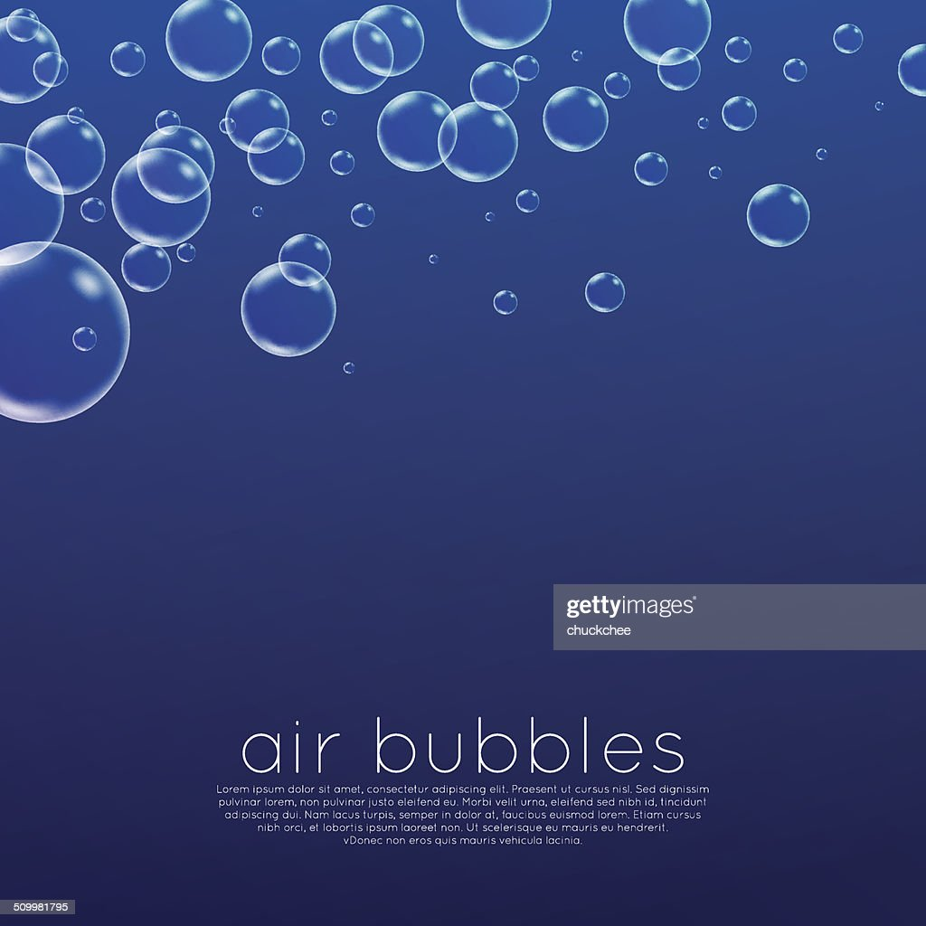 Underwater Bubbles Vector Art | Getty Images