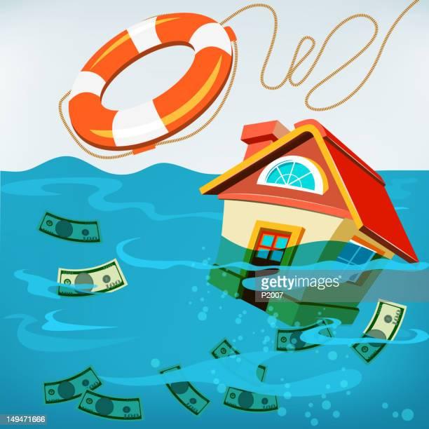 Underwater House Rescue