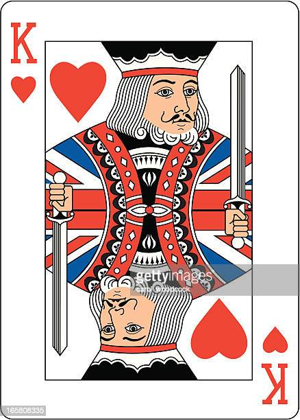 Union jack King of Hearts Two