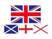 vector illustration of united kingdom flag