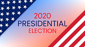 United States of America Presidential Election 2020. Vector illustration.