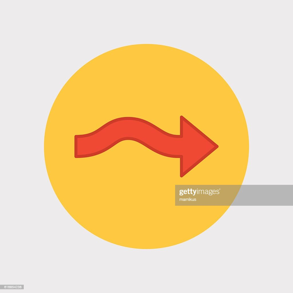 universal arrow icon : Vector Art