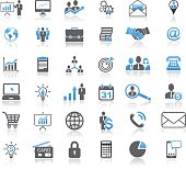 Universal Business Concept Icon Set