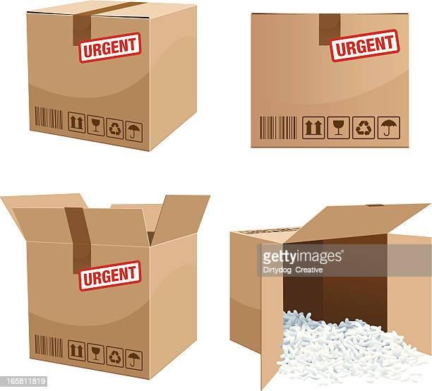 Urgent Parcel box delivery