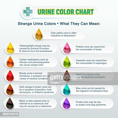 Urine Color Chart 2 Vector Art Thinkstock